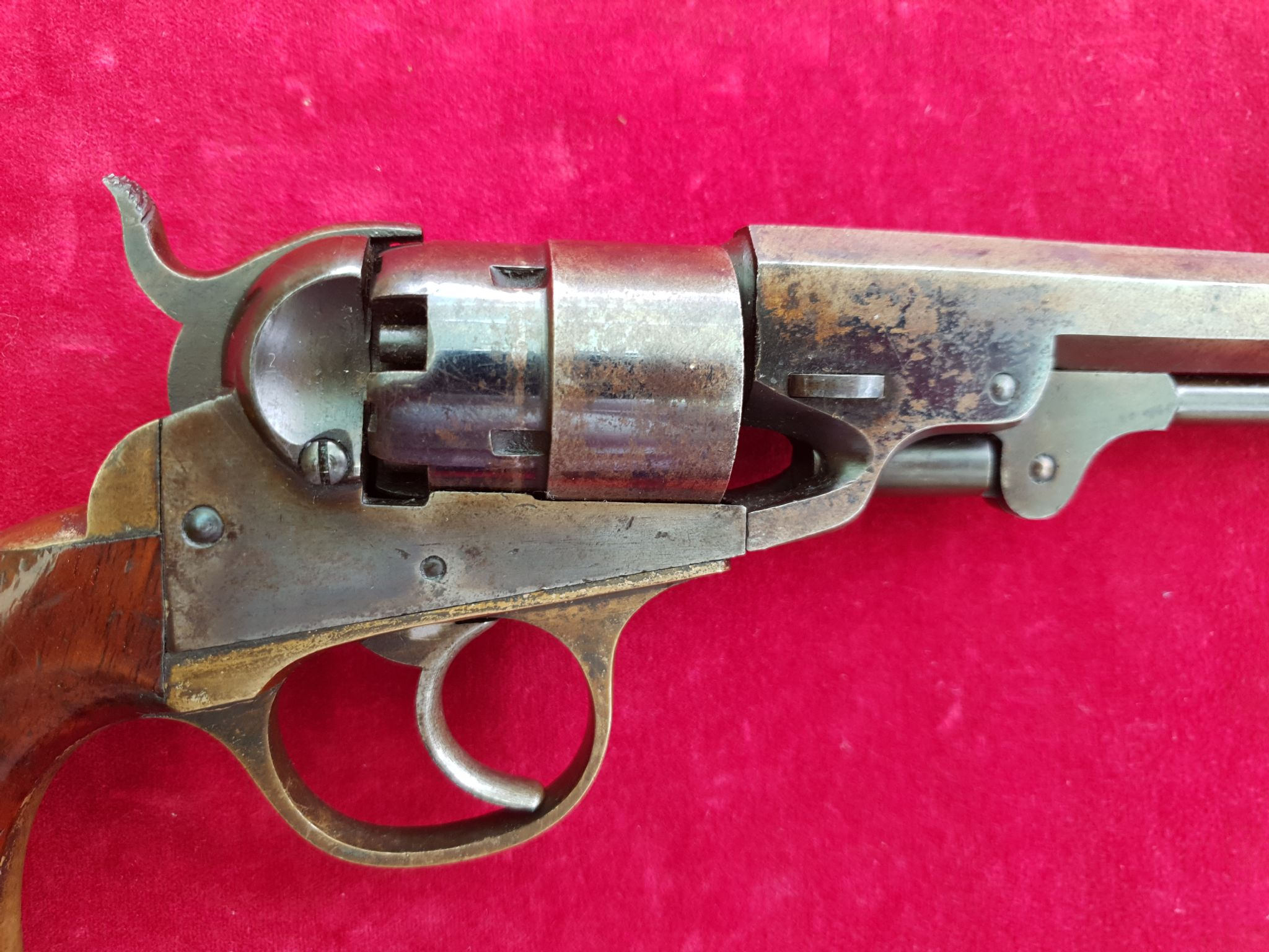 A rare civil war era Cooper 5 shot double action Navy Model  36